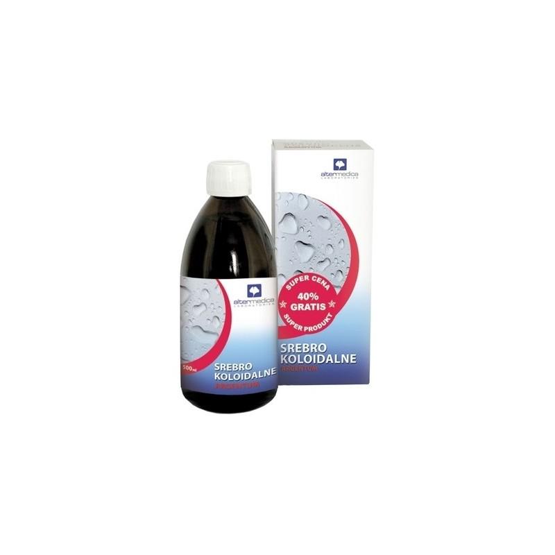 Srebro koloidalne argentum 300 ml + 200 ml gratis ALTER MEDICA