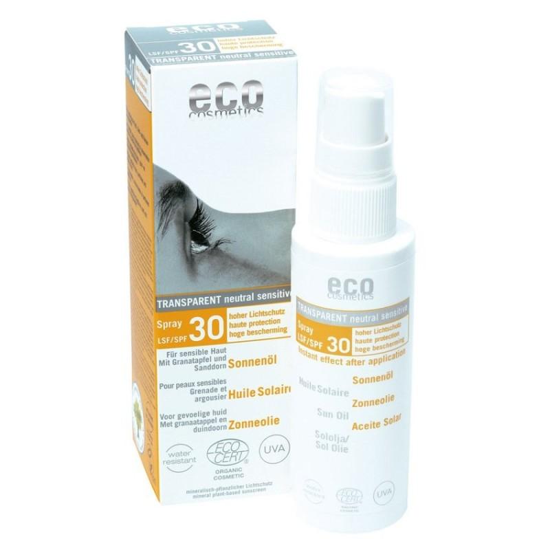 SPF 30 olejek na słońce eko 50 ml ECO COSMETICS