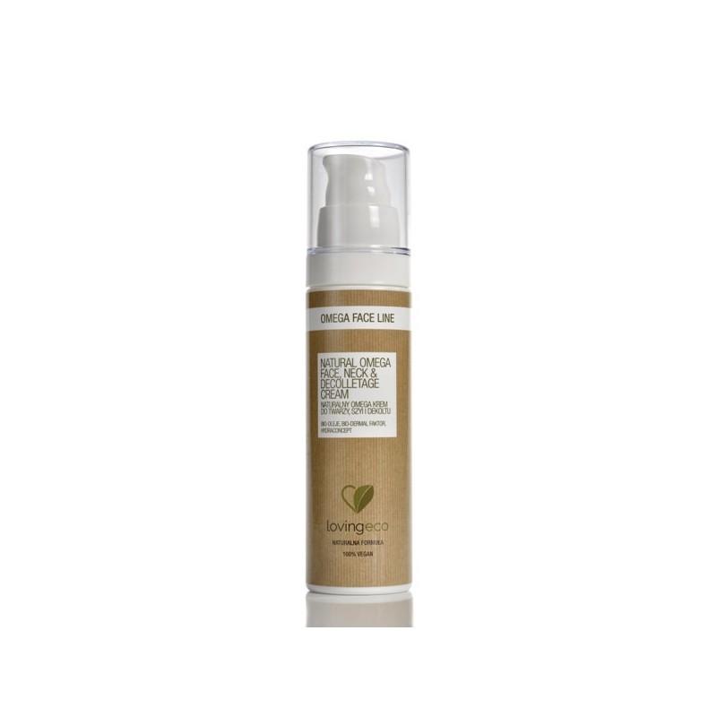 Naturalny omega krem do twarzy, szyi i dekoltu 50ml LOVING ECO