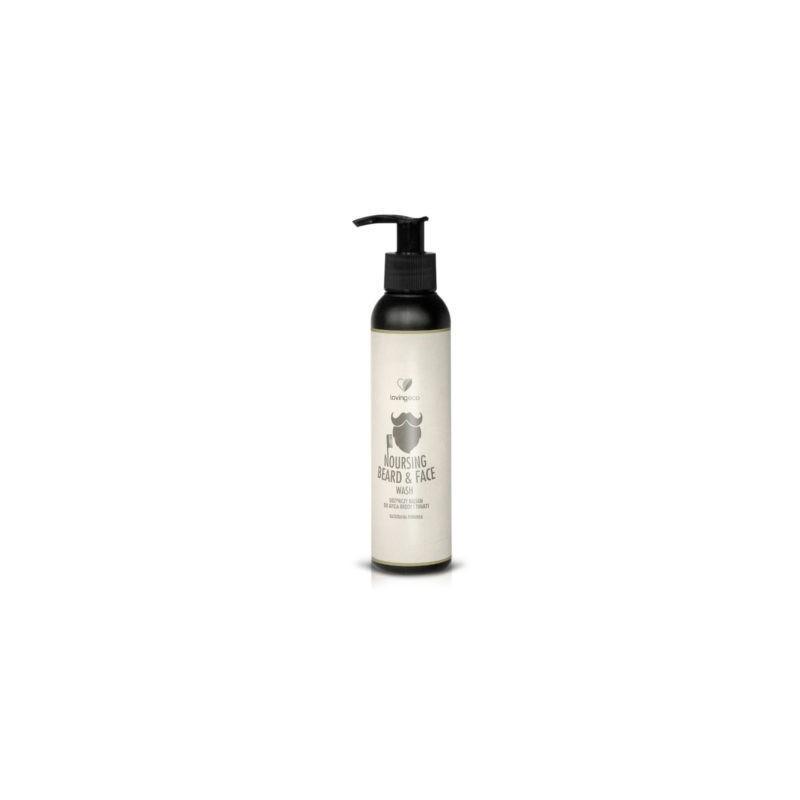 Odżywczy balsam do mycia brody i twarzy 150ml LOVING ECO