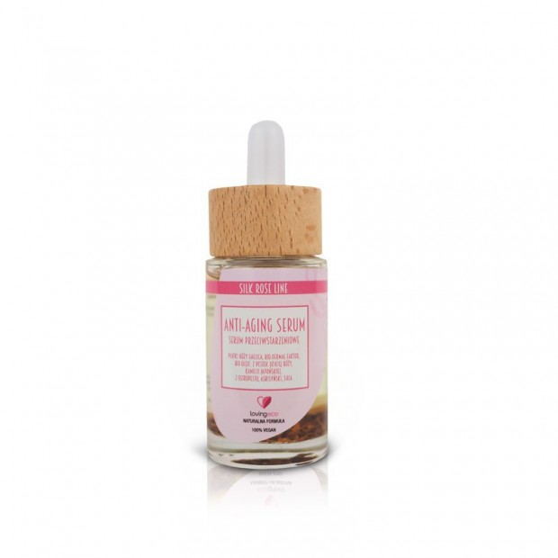 Silk rose serum przeciwstarzeniowe 30ml LOVING ECO