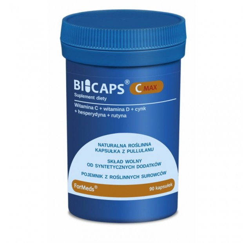 Bicaps Witamina C max 90kaps - FORMEDS