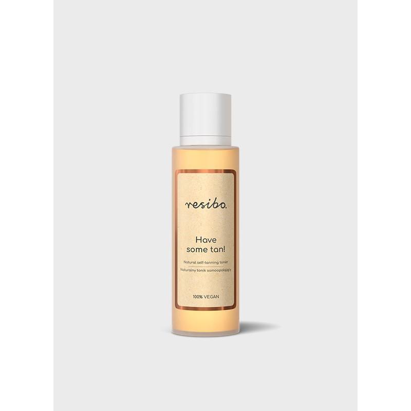 Naturalny tonik samoopalający 100ml Natural self-tanning toner RESIBO