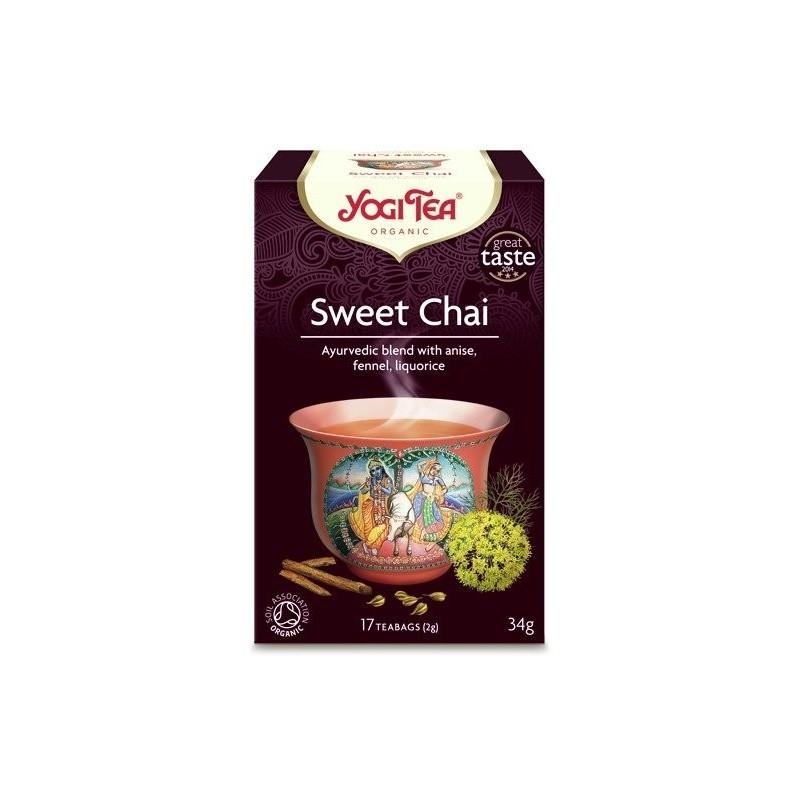 SWEET CHAI Słodki czaj BIO YOGI TEA