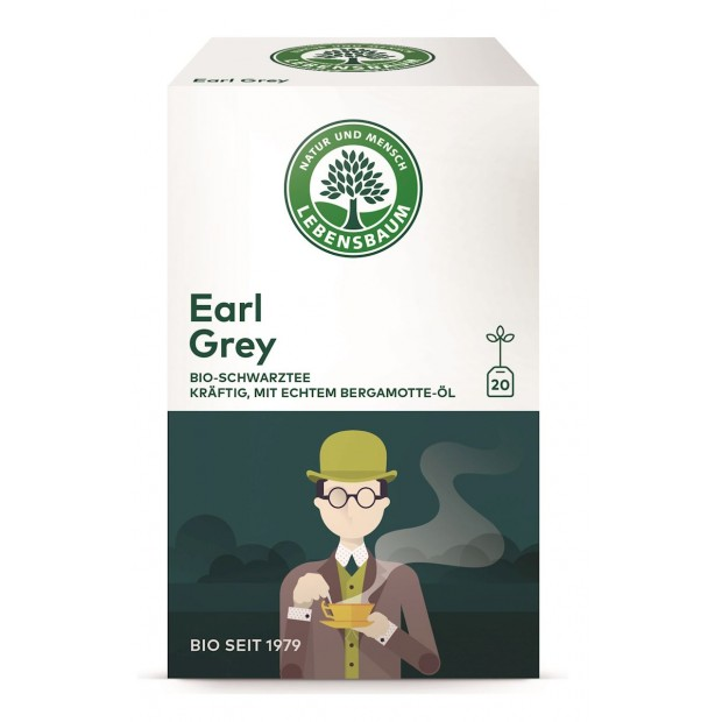 Herbata ekspresowa earl grey BIO 20x2g - LEBENSBAUM