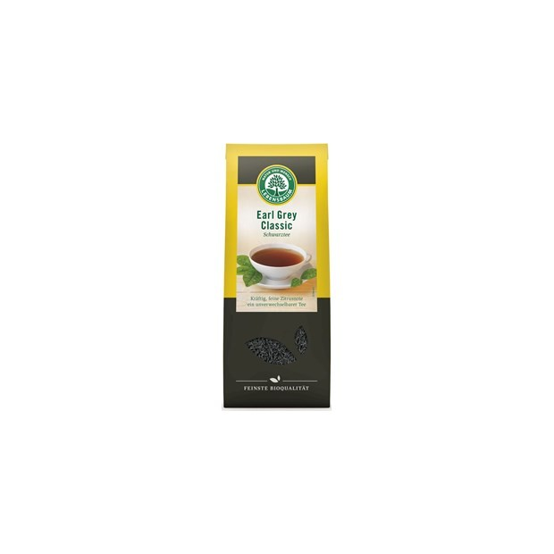 Herbata earl grey sypana BIO 100g - LEBENSBAUM