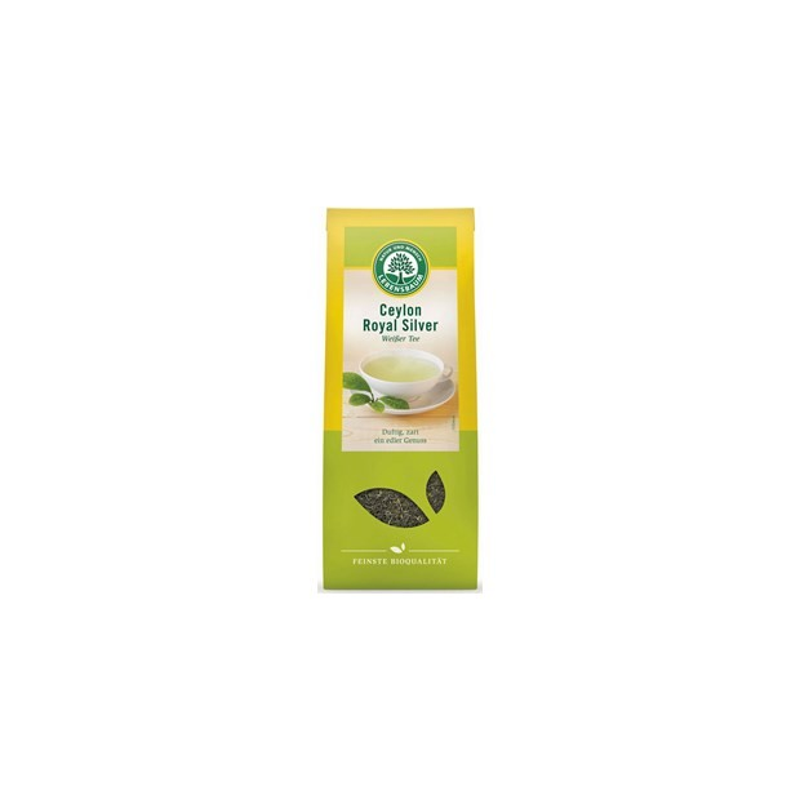 Herbata biała Ceylon Liściasta BIO 40g - LEBENSBAUM