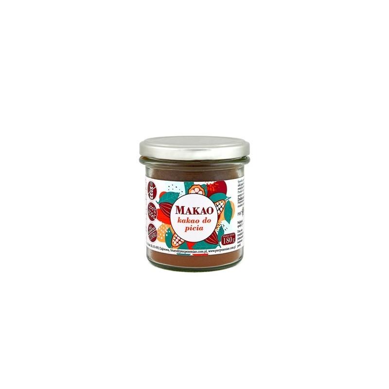 Makao - kakao do picia 180g - PIĘĆ PRZEMIAN