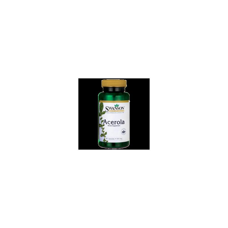 Acerola 500 mg 60 kaps. Swanson