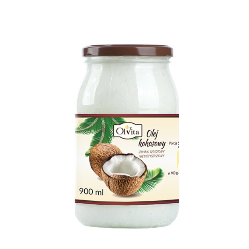 Olej kokosowy 900ml OLVITA