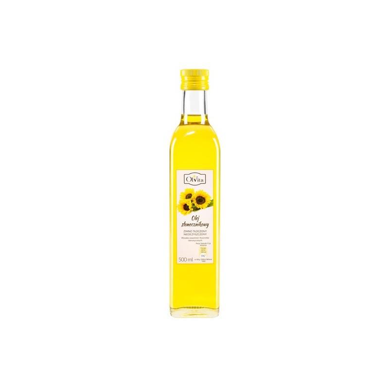 Olej słonecznikowy 500ml OLVITA