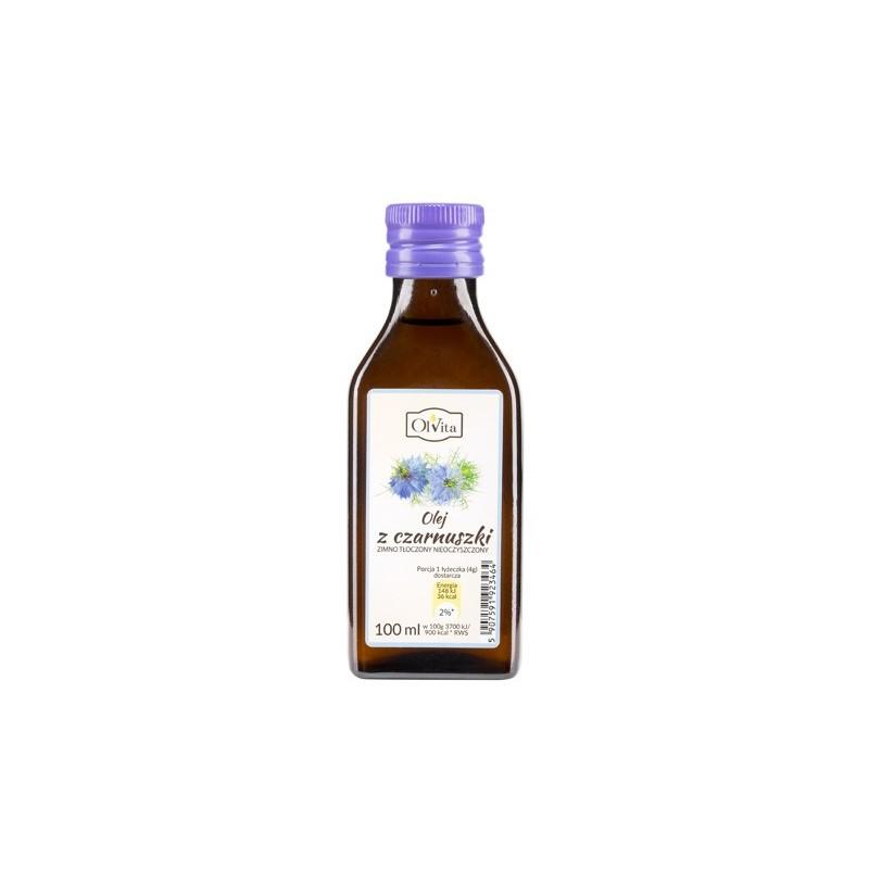 Olej z czarnuszki zimno tłoczony 100 ml Olvita