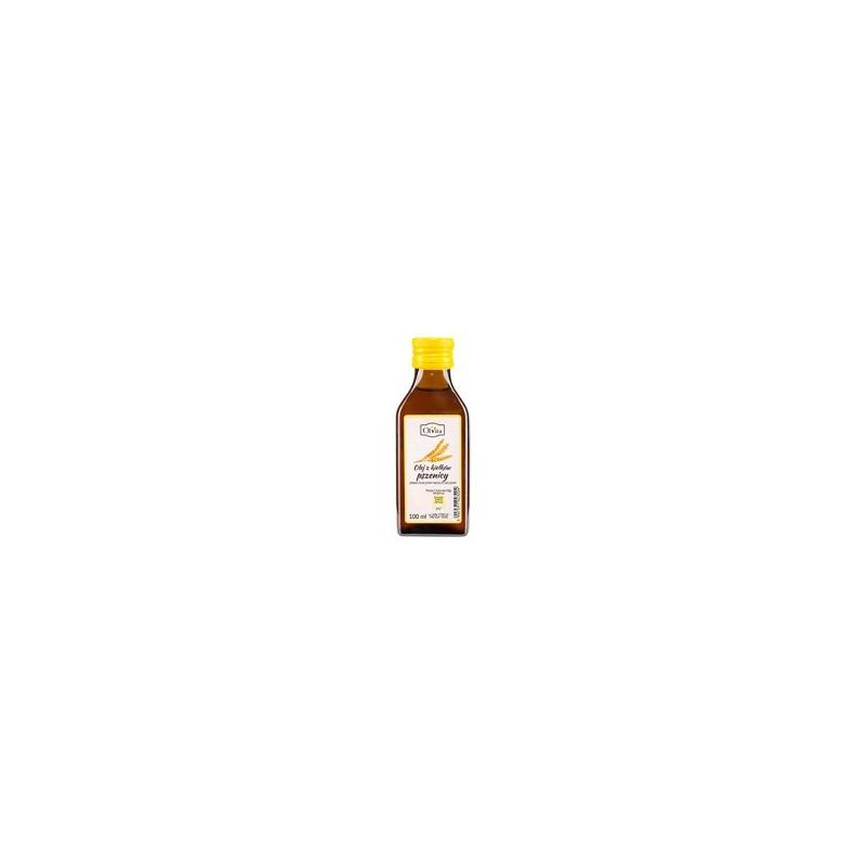 Olej z kiełków pszenicy zimno tłoczony 100 ml OLVITA