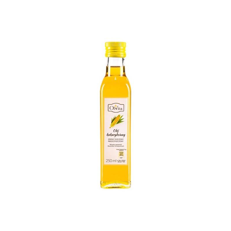 Olej kukurydziany zimno tłoczony 250ml OLVITA