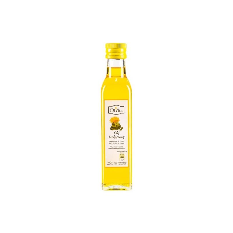 Olej z krokosza barwierskiego 250 ml OLVITA