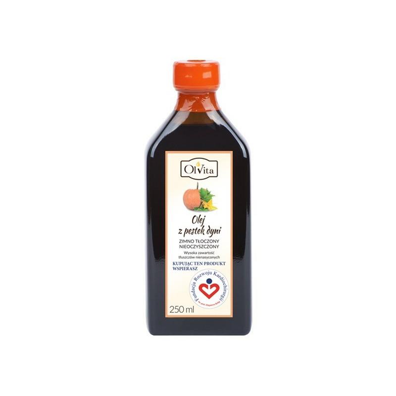 Olej dynia zimno tłoczony 250ml OLVITA
