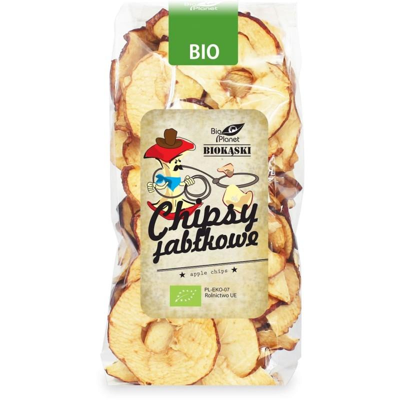 Chipsy jabłkowe bio 100g BIO PLANET