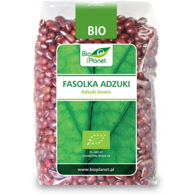 Fasolka adzuki bio 400g BIO PLANET