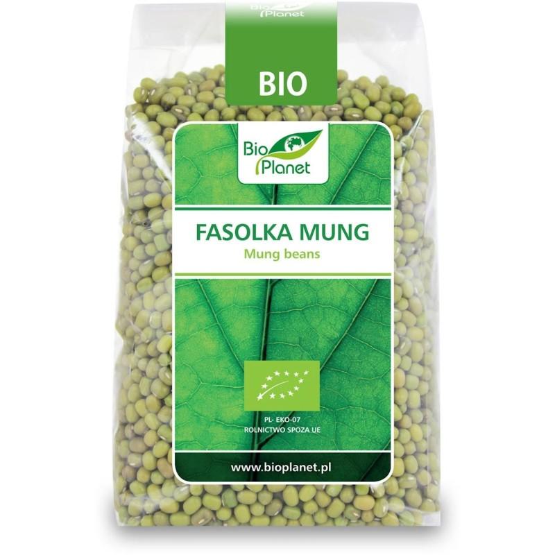 Fasolka mung bio 400g BIO PLANET