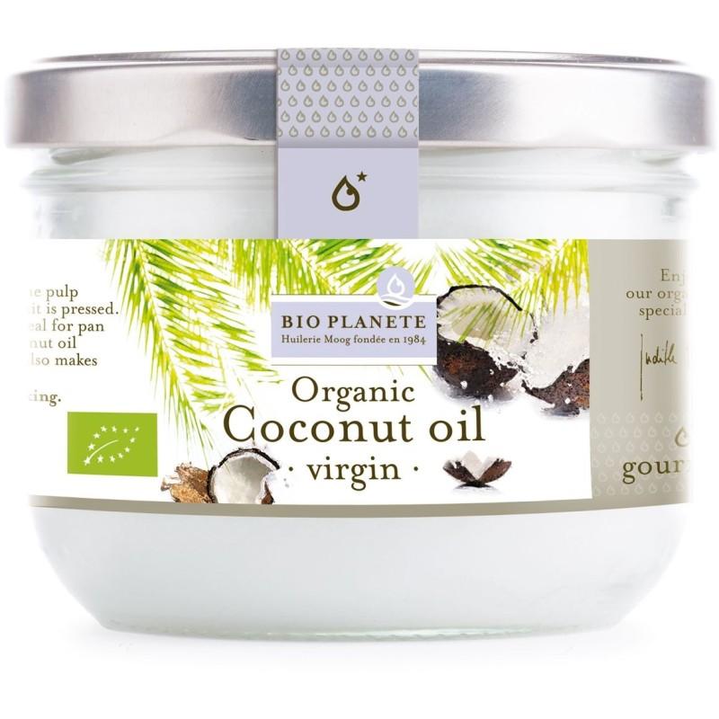 Olej kokosowy virgin bio 200ml BIO PLANETE