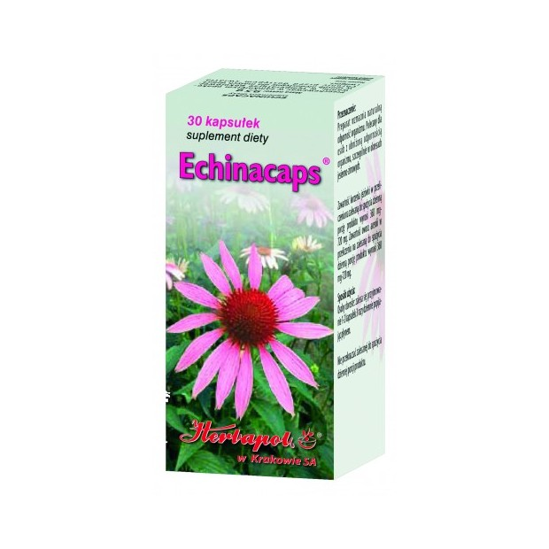 Echinacaps 30 kaps. HERBAPOL
