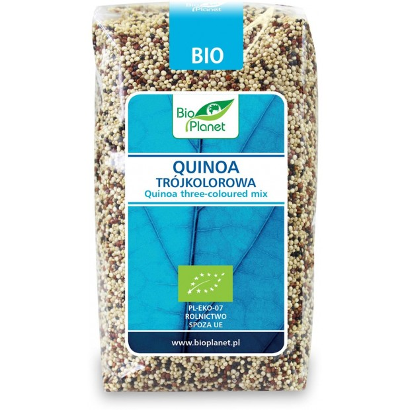 Quinoa trójkolorowa (komosa ryżowa) bio 500g BIO PLANET