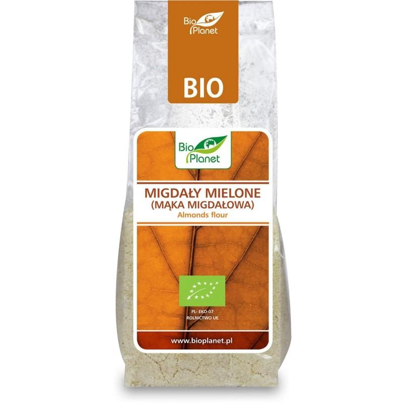 Migdały mielone (mąka migdałowa) 100 g BIO PLANET