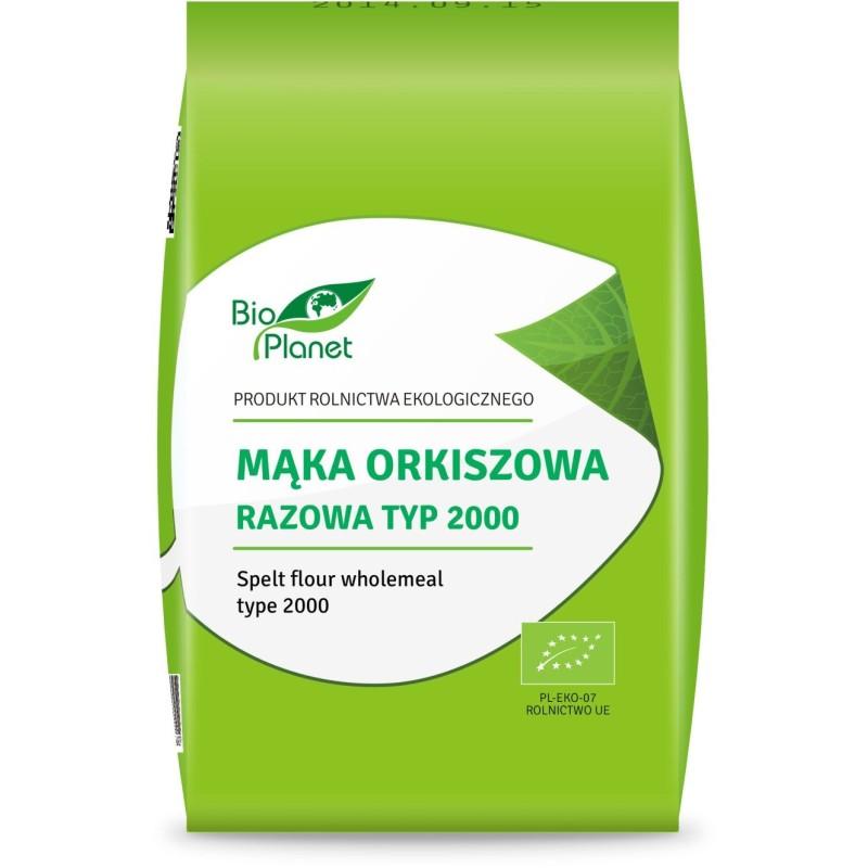 Mąka orkiszowa razowa typ 2000 bio 1 kg BIO PLANET