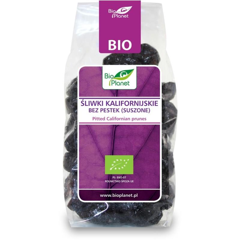 Śliwki kalifornijskie bez pestek bio 200 g BIO PLANET