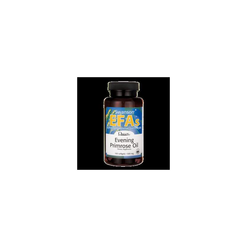 Olej z wiesiołka (EPO) 500 mg 100 kaps. SWANSON